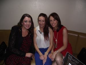 Myself, Samantha & Mona at the event