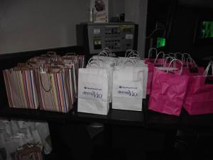 The very generous Goodie Bags we received!