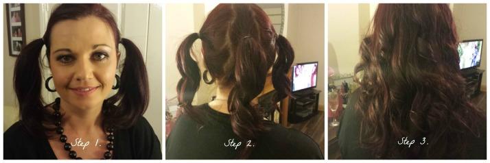 Curls in 3 easy Steps