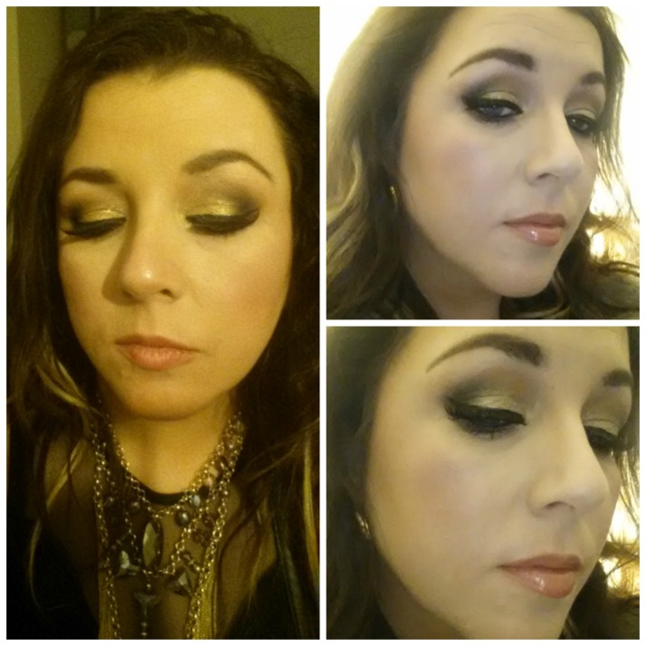 Gold Smoky Eyes