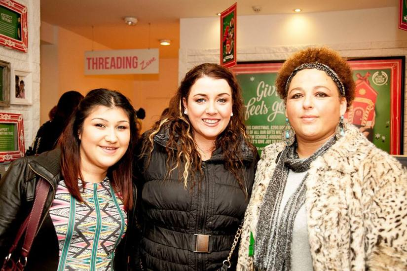 Myself (middle) Yaz from Glittermama Blog (left) and Deborah Leonard from Closer2Fabulous Blog (right)