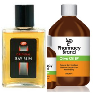 Bay Rum and Olive Oil