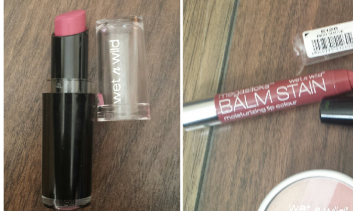 Left: Megalast Lipcolour Right: Megaslicks Lipstain