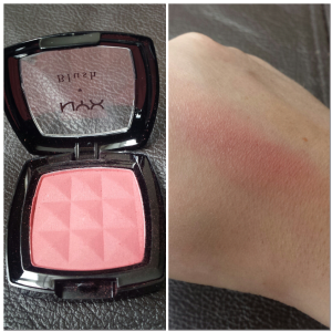 NYX Blush Silky Rose